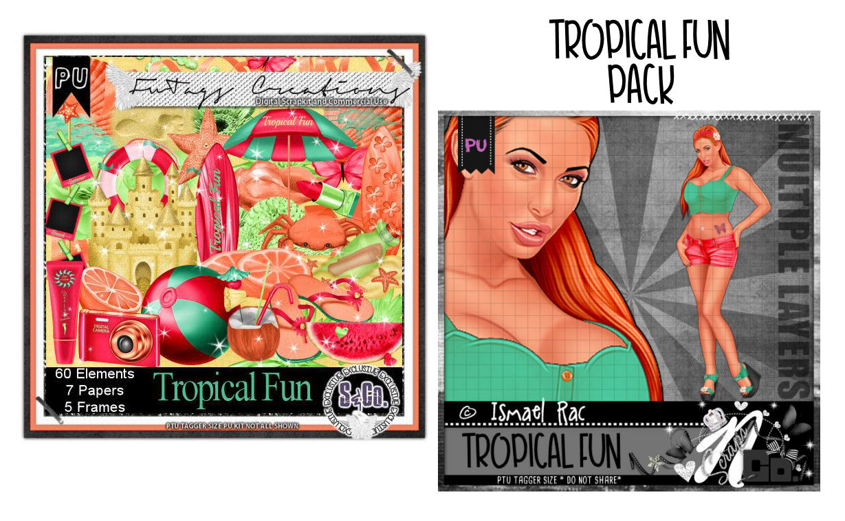 TROPICAL FUN COLLAB PACK